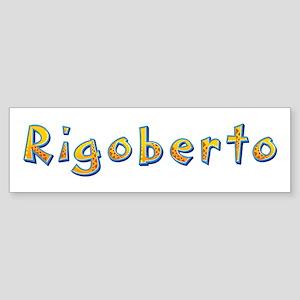 Rigoberto Giraffe Bumper Sticker