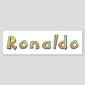Ronaldo Giraffe Bumper Sticker