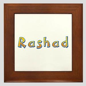 Rashad Giraffe Framed Tile