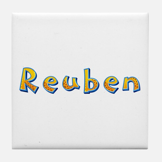 Reuben Giraffe Tile Coaster