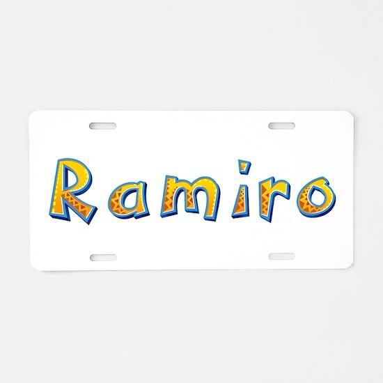 Ramiro Giraffe Aluminum License Plate
