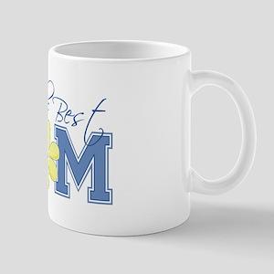 Best Mom Blue Mug