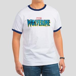 Wolverine Logo Ringer T