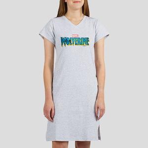 Wolverine Logo Women's Nightshirt