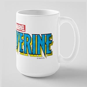 Wolverine Logo Large Mug