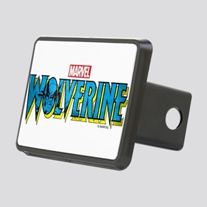 Wolverine Logo Rectangular Hitch Cover