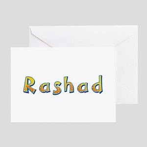 Rashad Giraffe Greeting Card