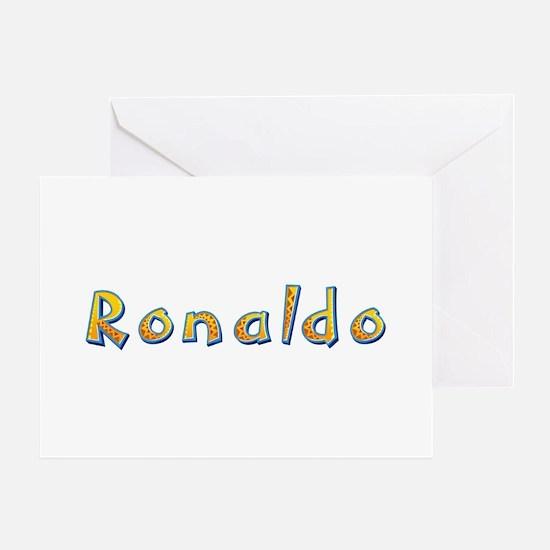 Ronaldo Giraffe Greeting Card