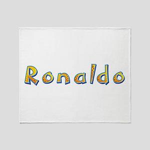 Ronaldo Giraffe Throw Blanket
