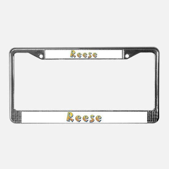 Reese Giraffe License Plate Frame