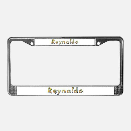 Reynaldo Giraffe License Plate Frame