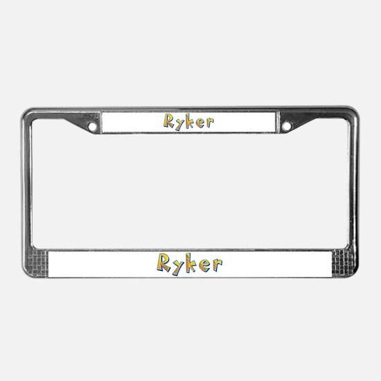 Ryker Giraffe License Plate Frame