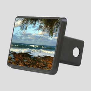 Water Style Rectangular Hitch Cover