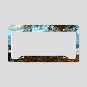 Water Style License Plate Holder