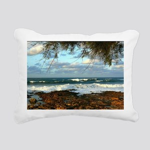 Water Style Rectangular Canvas Pillow