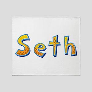 Seth Giraffe Throw Blanket