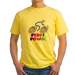 Pedal Power Yellow T-Shirt