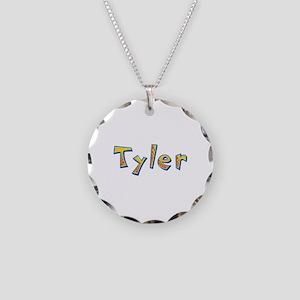 Tyler Giraffe Necklace Circle Charm