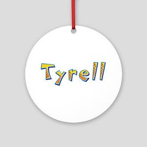 Tyrell Giraffe Round Ornament