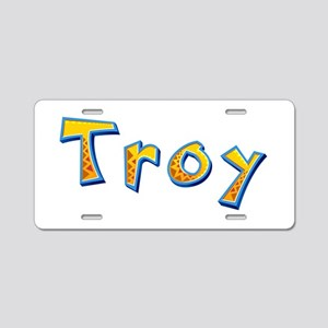 Troy Giraffe Aluminum License Plate