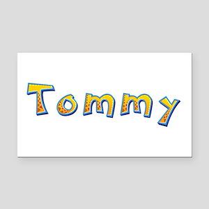 Tommy Giraffe Rectangular Car Magnet