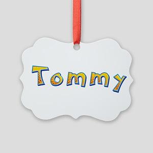 Tommy Giraffe Picture Ornament