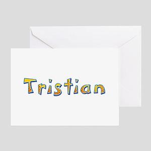 Tristian Giraffe Greeting Card