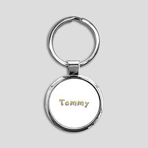 Tommy Giraffe Round Keychain