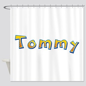 Tommy Giraffe Shower Curtain