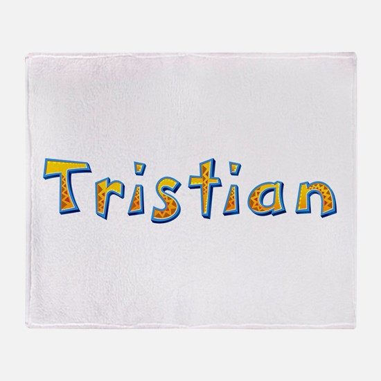 Tristian Giraffe Throw Blanket