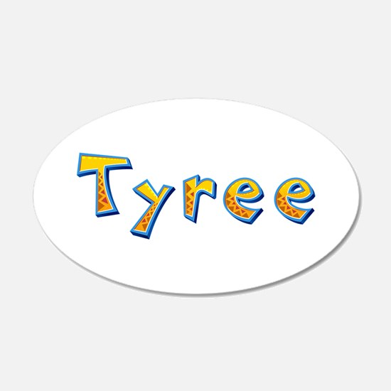 Tyree Giraffe Wall Decal