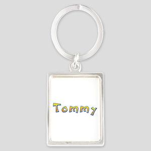Tommy Giraffe Portrait Keychain