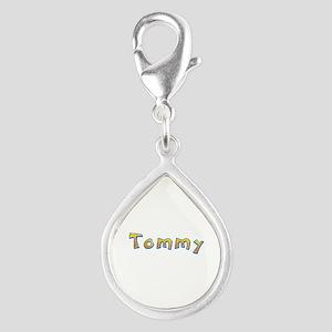 Tommy Giraffe Silver Teardrop Charm