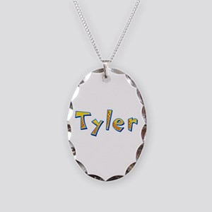 Tyler Giraffe Oval Necklace