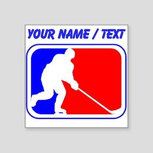 Custom Hockey League Logo Sticker