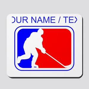 Custom Hockey League Logo Mousepad