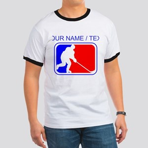 Custom Hockey League Logo T-Shirt
