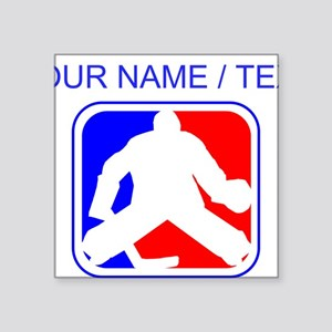 Custom Hockey Goalie League Logo Sticker
