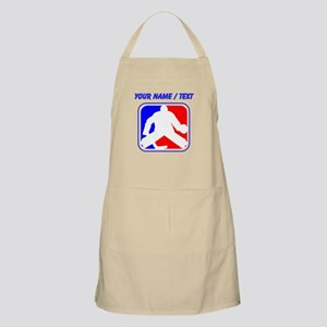 Custom Hockey Goalie League Logo Apron
