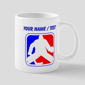 Custom Hockey Goalie League Logo Mugs