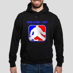 Custom Hockey Goalie League Logo Hoody