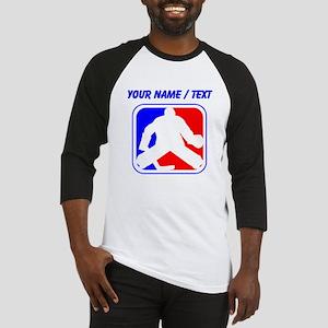 Custom Hockey Goalie League Logo Baseball Jersey