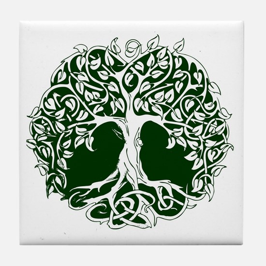 Tree of Life Tile Coaster