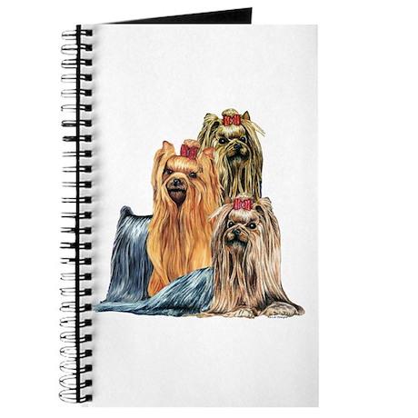 Yorkshire Terrier Yorkie Collage Journal