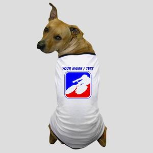 Custom Cycling League Logo Dog T-Shirt