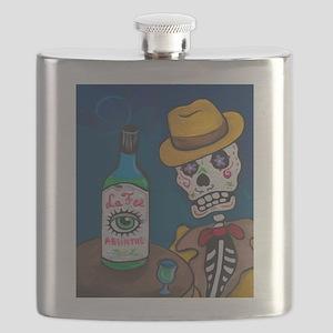 Los Muertos - Absinthe Drinker Flask