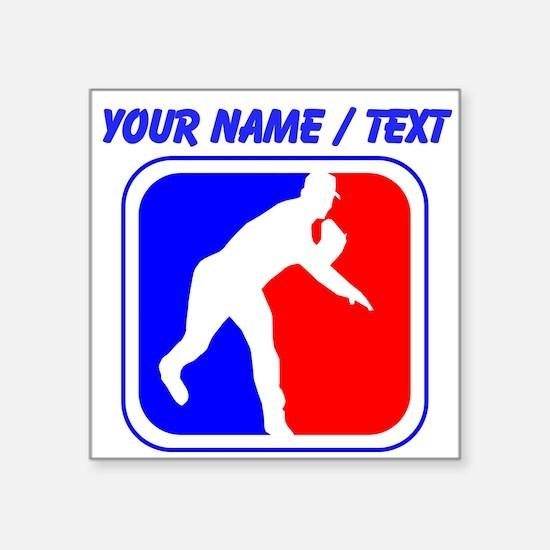 Custom Baseball League Logo Sticker