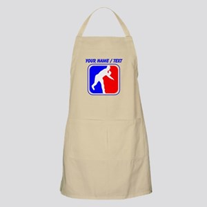 Custom Baseball League Logo Apron
