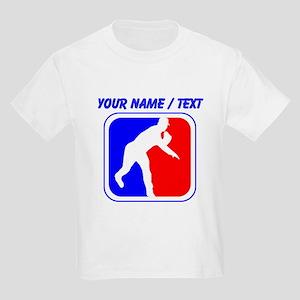 Custom Baseball League Logo T-Shirt