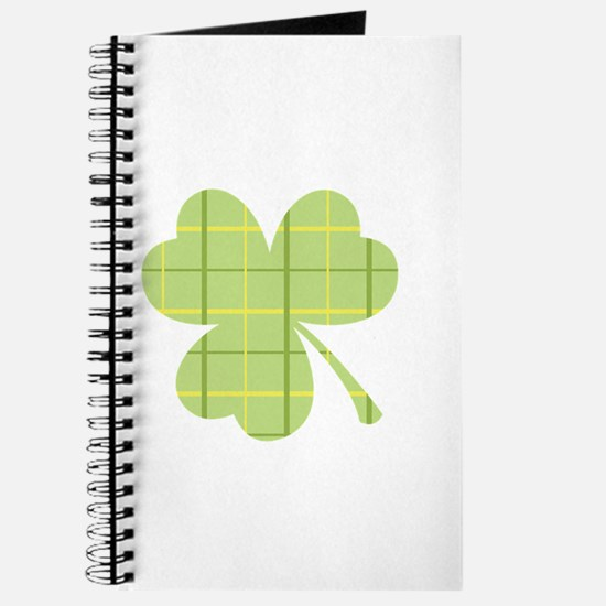 Plaid Shamrock Journal